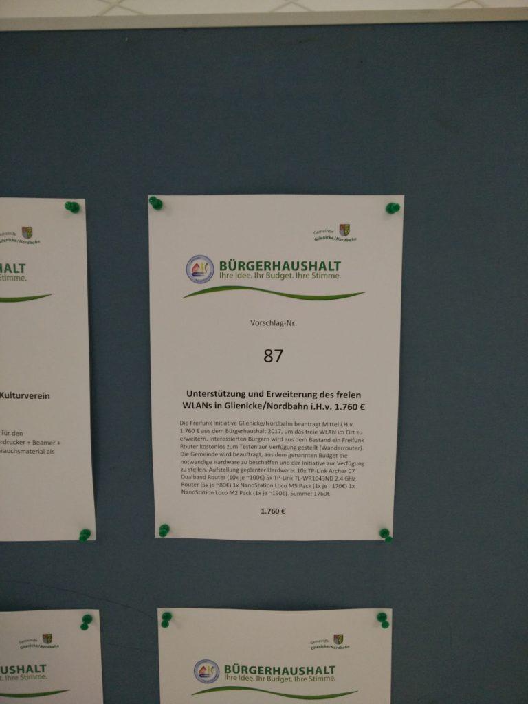 Vorschlag 87 der Freifunk Initiative